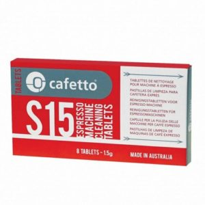Cafetto S15 Rensetabletter 8 stk