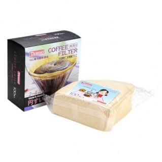 Tiamo Kaffefilter papir V02