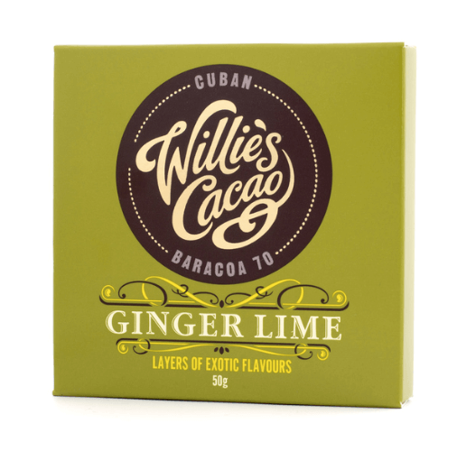 Willie's Cacao - Ginger Lime 50g