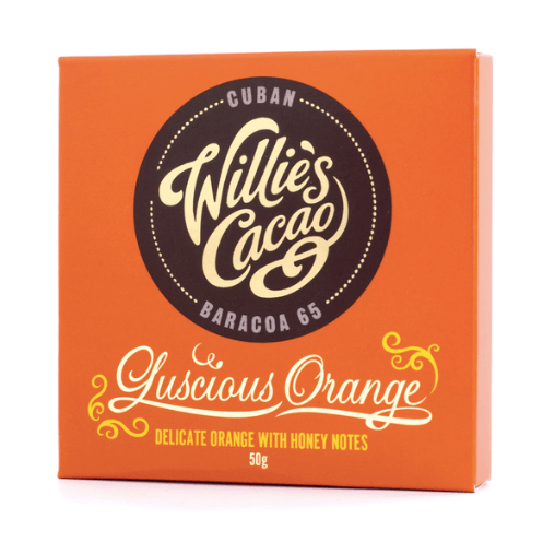 Willie's Cacao - Luscious Orange 50g