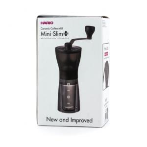 Hario Mini Mill Slim Plus - Kaffe Håndkværn MSS-1DTB
