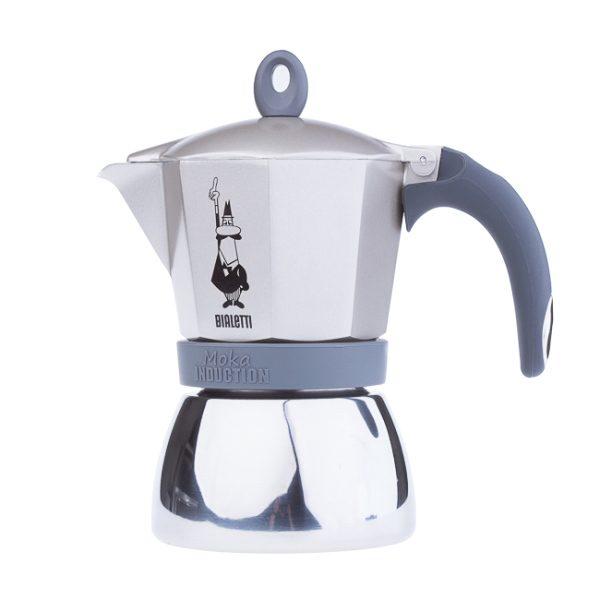 Bialetti Induction Gold 6 kopper Moka Espressokande