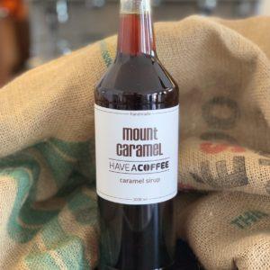Mount Caramel - Kaffesirup Karamel 1 Liter