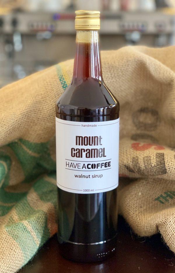 Mount Caramel - Kaffesirup med valnød 1 Liter