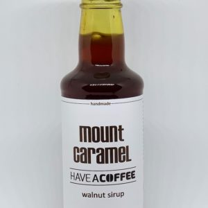 Mount Caramel - Kaffesirup med valnød