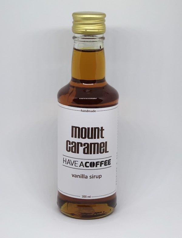 Mount Caramel - Kaffesirup med vanilje