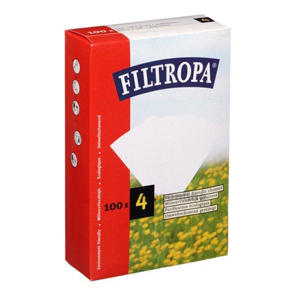 Filtropa Papierfilter Melitta Style (1x4) 100 stück