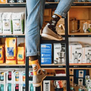 Many Mornings - Coffee Lover Barista Sokker