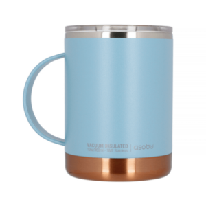 Asobu - Ultimate Coffee Mug Blå - Termoisoleret 360 ml
