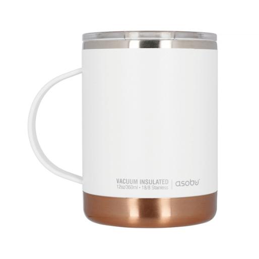 Asobu - Ultimate Kaffeetasse Weiß - thermisch isoliert 360 ml