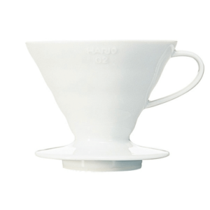Hario V60-02 Keramisk Coffee Dripper Hvid