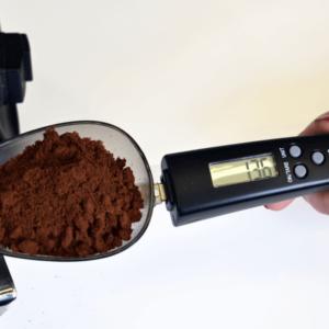 Joe Frex Kaffeske med indbygget digital vægt