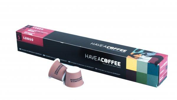 Have A Coffee Lungokapseln - 10 Stück